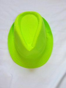 Other Bright Green Fedora