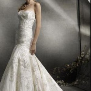 Lazaro Lz3766 Wedding Dress