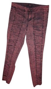 GLO Jeans Ruched Leg Skinny Jeans-Coated