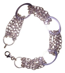 Other New Sterling Silver Link Chain Bracelet