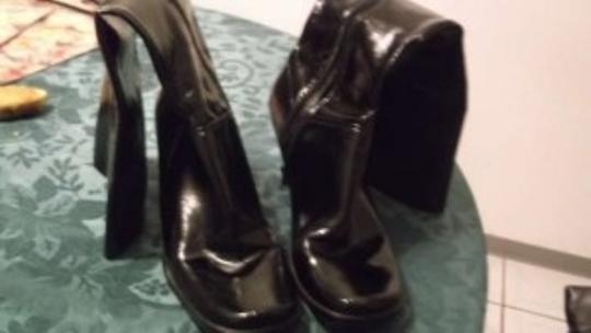 Nine West Patent Leather Black Formal