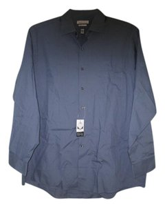 Van Heusen Button Down Shirt Blue