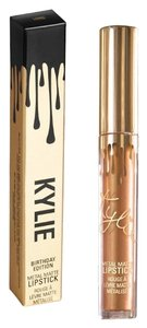 Kylie Cosmetics Nip/Kylie's Lord/Metal Lipstick/LTD 19 th B-Day