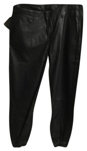 Rag & bone lamb leather pajama pants Trouser Pants Black