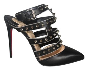 Christian Louboutin Spikes Black Pumps