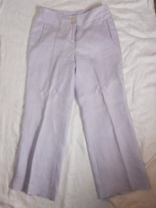 J. Jill Linen Trousers Petite Trouser Pants Light Lavender