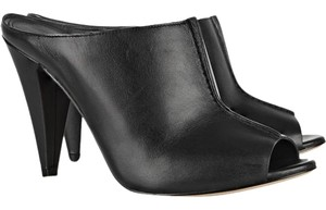 Sigerson Morrison Modern Leather Chic Luxury Mules