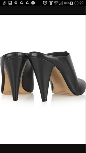 Sigerson Morrison Modern Leather Chic Luxury Mules Image 3