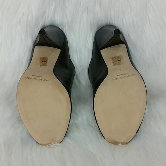 Sigerson Morrison Modern Leather Chic Luxury Mules Image 5
