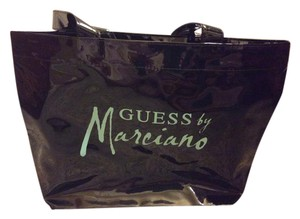 Guess By Marciano Beach Rare BLACK Beach Bag