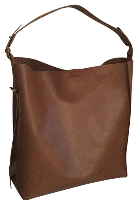 Item - Paradise North South Tote Camel Italian Leather/Suede Lining Hobo Bag