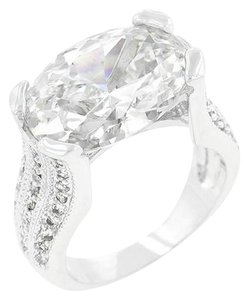 Oval Cubic Zirconia Ring [SHIPS NEXT DAY]