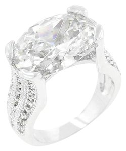 Other Oval Cubic Zirconia Ring [SHIPS NEXT DAY]