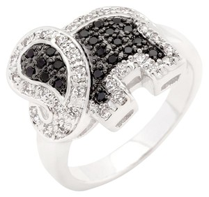 Other Cubic Zirconia Petite Elephant Ring