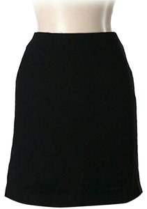 Barneys New York A-line Skirt Black