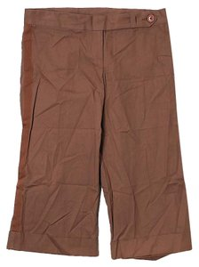 Mason by Michelle Mason Low-rise Capris Tan