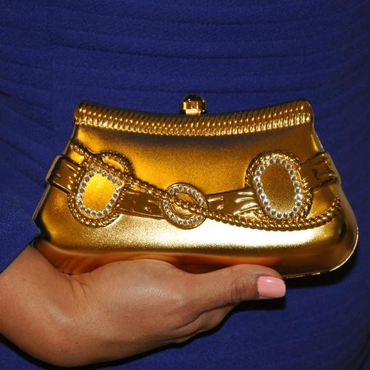 Other Evening Evening Metal Accessories GOLD Clutch Image 1
