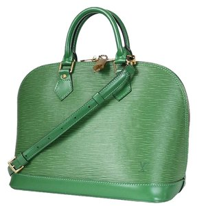 Louis Vuitton Satchel Lv Tote in Green