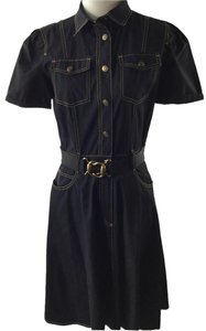 Gucci short dress Dark Blue on Tradesy
