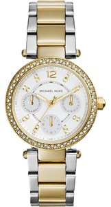 Michael Kors Michael Kors Women's Two-Tone Mini Parker Watch MK6055