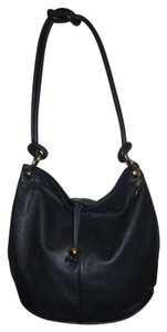 Etra Vintage Leather Bucket Shoulder Bag
