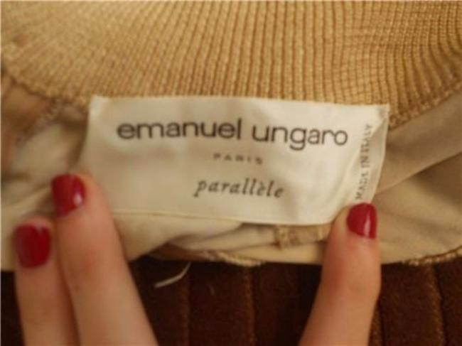Emanuel Ungaro 'parallele Excellent Vintage Sleeveless Mock-t Neck Dressy Or Casual Top yellows and browns Image 2