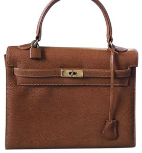 Kelly bag Satchel in Brown