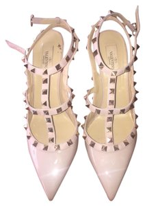 Valentino Blush/ Nude Pumps