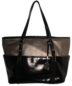 Style & Co Tote in Black and Bronze
