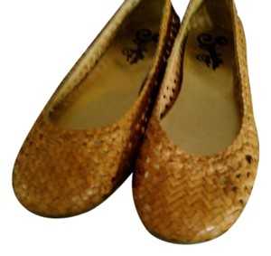 Seychelles Color Openweave Leather Basic Round Toe mustard Flats