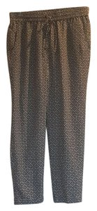 J.Crew Trouser Pants Navy and white