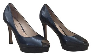 Anne Klein Navy Blue Platforms