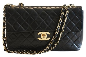 Chanel Jumbo Lambskin Flap Classic Shoulder Bag