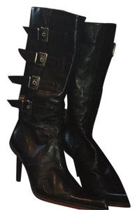 Emanuela Passeri Black / red accents Boots