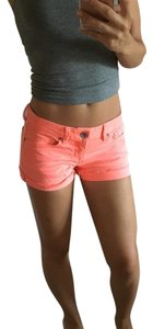 Aéropostale Cut Off Shorts Neon coral