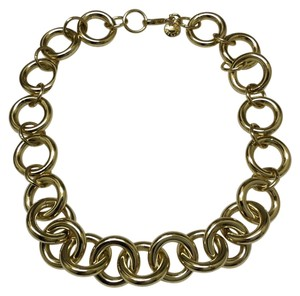 J.Crew Wide Gold Chain Link Necklace