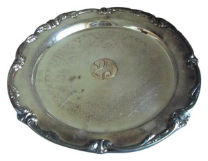 International Silver Co International Silver Co Silver Plated Tray 25th Anniversary