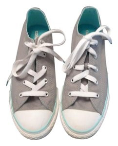 Converse grey and teal Athletic