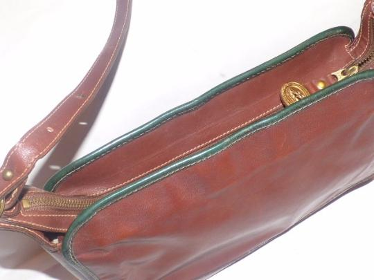Brahmin Two-way Style Lots Of Pockets Clutch/Shoulder Great Everyday Excellent Vintage Cross Body Bag Image 1