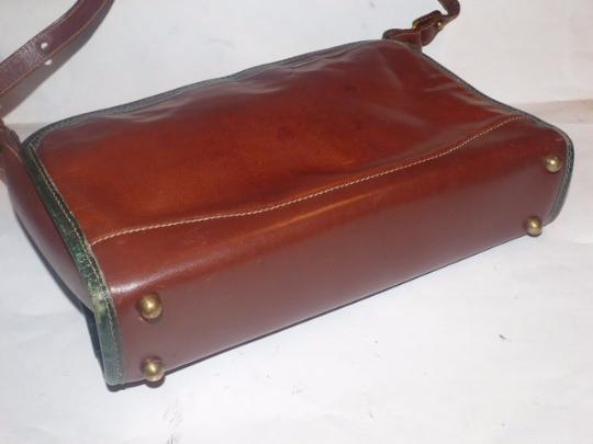 Brahmin Two-way Style Lots Of Pockets Clutch/Shoulder Great Everyday Excellent Vintage Cross Body Bag Image 2