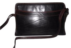 Brahmin Two-way Style Lots Of Pockets Clutch/Shoulder Great Everyday Excellent Vintage Cross Body Bag