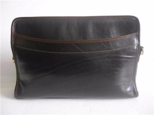 Brahmin Two-way Style Lots Of Pockets Clutch/Shoulder Great Everyday Excellent Vintage Cross Body Bag Image 4