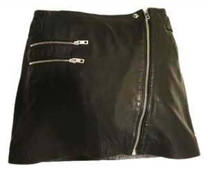 Rag & Bone Mini Mini Mini Skirt Black