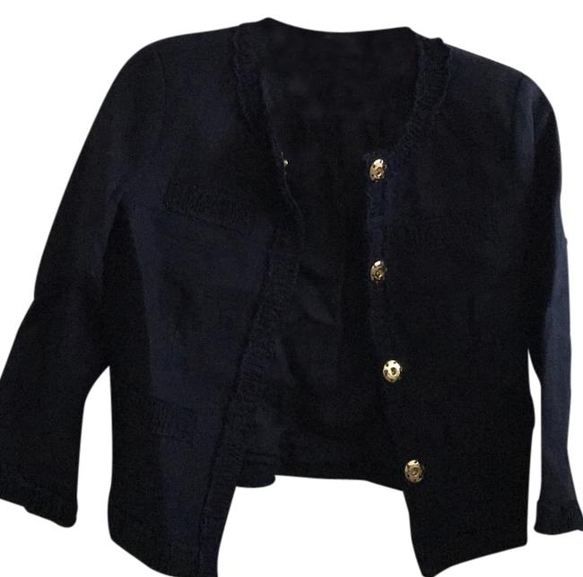 Preload https://img-static.tradesy.com/item/18758539/michael-michael-kors-navy-three-quarter-sleeve-4p-blazer-size-petite-4-s-0-1-650-650.jpg