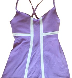 Lululemon Support Bra Cut Out Fitted Yoga Tank Top