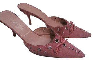 Prada Dressy Or Casual pink suede Pumps