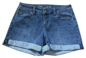 The Limited Cuffed Shorts Denim