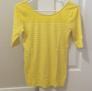 Ann Taylor T Shirt Yellow