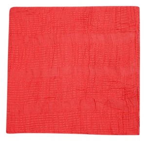Zara Basic Red Scarf