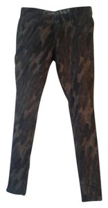 Vera Wang Skinny Pants Multi/Browns